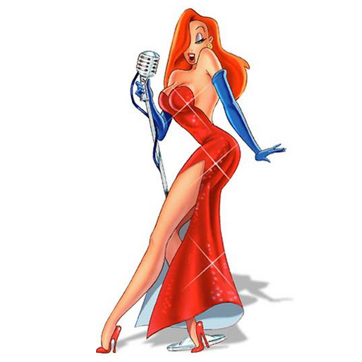 Figure 2 - Jessica Rabbit